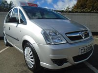 USED 2009 59 VAUXHALL MERIVA 1.6 LIFE 16V 5d 100 BHP GUARANTEED TO BEAT ANY 'WE BUY ANY CAR' VALUATION ON YOUR PART EXCHANGE