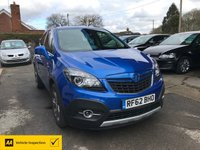 USED 2013 55 VAUXHALL MOKKA 1.4 SE S/S 5d 138 BHP NEED FINANCE? WE STRIVE FOR 94% ACCEPTANCE - 4X4,SAT NAV