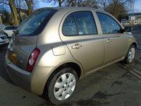 USED 2003 52 NISSAN MICRA 1.2 SE 5d AUTO 80 BHP GREAT VALUE HATCHBACK + NEW MOT
