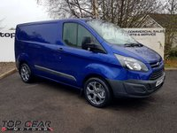 2016 FORD TRANSIT CUSTOM 270 2.2 100-170 BHP L1 H1 CHOOSE FROM 70 VANS £11795.00