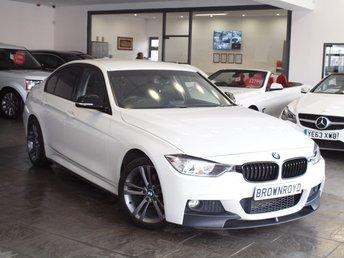 2014 BMW 3 SERIES 2.0 320I SPORT 4d AUTO 181 BHP £15490.00