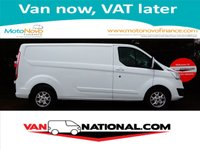 2014 FORD TRANSIT CUSTOM 2.2 290 LIMITED L2 155 BHP (ONE OWNER LWB RARE 155BHP) £12890.00