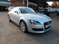 USED 2010 10 AUDI TT 2.0 TFSI 3d AUTO 200 BHP AUDI HISTORY,EXCLUSIVE INTERIOR,TWO KEYS,AIR CON