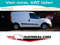 2015 FIAT DOBLO 1.3 16V MULTIJET 90 BHP (NEW FACELIFT MODEL) ONE OWNER £5590.00
