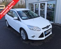USED 2013 63 FORD FOCUS 2.0 TDCI TITANIUM X 163 BHP THIS VEHICLE IS AT SITE 1 - TO VIEW CALL US ON 01903 892224