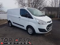 USED 2017 66 FORD TRANSIT CUSTOM 290 2.0 105 - 170 BHP TREND L1 H1 **CHOICE OF 70 VANS**