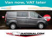 2015 FORD TRANSIT CUSTOM 2.2 290 LIMITED LR DCB 125 BHP (ONE OWNER RARE GREY METALLIC) £15989.00
