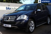 2010 MERCEDES-BENZ ML 350 3.0 CDI BLUE EFFICIENCY SPORT 5d 231 BHP £SOLD
