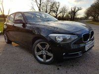"USED 2012 12 BMW 1 SERIES 2.0 118D SPORT 5d 17"" ALLOYS & EXTRAS"