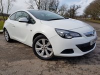 2012 VAUXHALL ASTRA GTC 1.4 GTC SPORT S/S 3d UPGRADED EXTRAS £4775.00