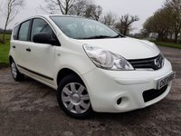 USED 2012 12 NISSAN NOTE 1.5 VISIA DCI 5d LOW MILES EXCELLENT