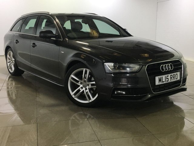 View our 2015 15 AUDI A4 2.0 AVANT TDI S LINE START/STOP 5d AUTO 148 BHP