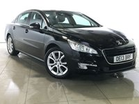 USED 2013 13 PEUGEOT 508 1.6 E-HDI ACTIVE NAVIGATION VERSION 4d AUTO 115 BHP