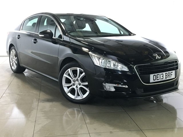 View our 2013 13 PEUGEOT 508 1.6 E-HDI ACTIVE NAVIGATION VERSION 4d AUTO 115 BHP