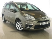 USED 2012 12 CITROEN C4 GRAND PICASSO 1.6 E-HDI VTR PLUS EGS 5d AUTO 110 BHP Great Family Car/7 Seats
