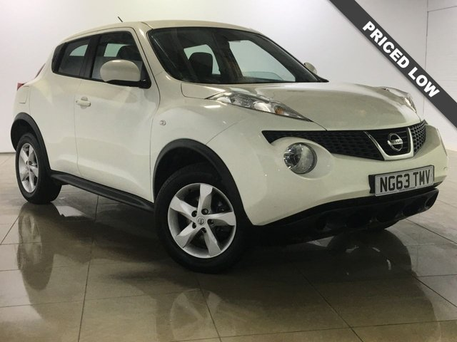 View our 2014 63 NISSAN JUKE 1.6 VISIA 5d 93 BHP
