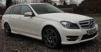 USED 2012 62 MERCEDES-BENZ C CLASS 3.0 C350 CDI BLUEEFFICIENCY AMG SPORT PLUS 5d AUTO 262 BHP