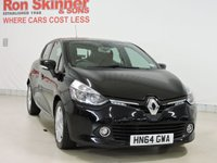 USED 2014 64 RENAULT CLIO 0.9 DYNAMIQUE MEDIANAV ENERGY TCE ECO2 S/S 5d 90 BHP