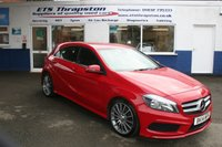2014 MERCEDES-BENZ A CLASS 1.8 A200 CDI BLUEEFFICIENCY AMG SPORT 5d 136 BHP £14950.00