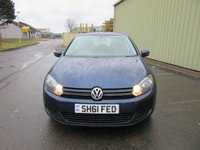 USED 2011 61 VOLKSWAGEN GOLF 1.6 MATCH TDI 5d 105 BHP I PREV OWNER FVWSH