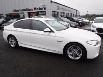2016 BMW 5 SERIES 3.0 530D M SPORT 4d AUTO 255 BHP £21995.00