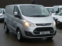 2015 FORD TRANSIT CUSTOM 2.2TDCi 270 LIMITED L1  125 BHP Air Con Bluetooth Cruise control Front and Rear Parking Sensors and much more £11495.00