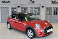 USED 2016 65 MINI HATCH COOPER 1.5 COOPER 5d 134 BHP FULL SERVICE HISTORY + BLUETOOTH + DAB RADIO + £20 ROAD TAX + PEPPER PACK + 15 INCH ALLOYS + RAIN SENSORS + AIR CONDITIONING