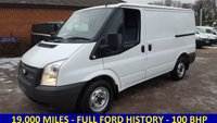 2012 FORD TRANSIT 280 SWB 100BHP WITH ONLY 19,000 MILES  FROM THE NHS £8295.00
