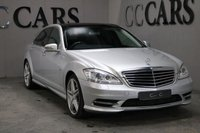 USED 2010 60 MERCEDES-BENZ S CLASS 3.0 S350 BLUETEC L 4d AUTO 258 BHP LUXURIOUSLY APPOINTED HUGE SPEC SATNAV FACTORY REAR ENTERTAINMENT+HARMON KARDON LOGIC 7 SURROUND SOUND PAN GLASS ROOF 20 INCH ALLOYS DYNAMIC MULTI CONTOUR HEATED MASSAGE SEATS+MEM AMAZING FULL UP TO DATE MERCEDES DEALER+SPECIALIST HISTORY WITH DETAILED INVOICES FRONT AND REAR PARK DISTANCE CONTROL+REVERSE CAMERA AMG BODYSTYLING AUTOMATIC BI-XENON HEADLIGHTS+HIGH BEAM ASSIST TYRE.PRESSURE MONITOR THIS CAR DOES NOT LOOK OR DRIVE LIKE THE MILEAGE COVERED AND IS IN SUPERB CONDITION THROUGHOUT 2 KEYS