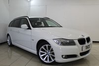 USED 2012 12 BMW 3 SERIES 2.0 320D SE TOURING 5DR AUTOMATIC 181 BHP SERVICE HISTORY + LEATHER SEATS + SAT NAVIGATION + PARKING SENSOR + BLUETOOTH + CRUISE CONTROL + CLIMATE CONTROL + MULTI FUNCTION WHEEL + 17 INCH ALLOY WHEELS