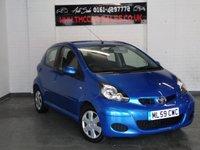 2009 TOYOTA AYGO 1.0 BLUE VVT-I 5d AUTO 67 BHP £4000.00