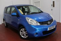 2011 NISSAN NOTE 1.4 ACENTA 5d 88 BHP £4295.00