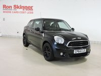 USED 2014 64 MINI PACEMAN 1.6 COOPER D 3d 111 BHP with CHILI Pack + Leather Upholstery + More