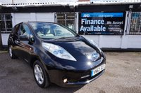 USED 2012 62 NISSAN LEAF 24KWh EV AUTO 5d AUTO 107 BHP FSH - SAT NAV Full Service History, BATTERIES OWNED no Lease, Sat Nav