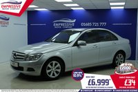 2010 MERCEDES-BENZ C CLASS 1.8 C180 CGI BLUEEFFICIENCY SE 4d AUTO 156 BHP £6999.00