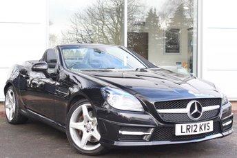 2012 MERCEDES-BENZ SLK 1.8 SLK200 BLUEEFFICIENCY AMG SPORT 2d AUTO 184 BHP £13989.00