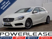 USED 2015 64 MERCEDES-BENZ A CLASS 1.5 A180 CDI BLUEEFFICIENCY AMG SPORT 5d 109 BHP HALF LEATHER BLUETOOTH CRUISE