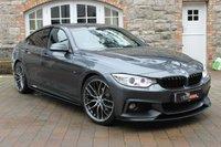 2015 BMW 4 SERIES 2.0 420D M SPORT GRAN COUPE 4d AUTO 181 BHP £18750.00