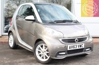 USED 2014 63 SMART FORTWO 1.0 PASSION MHD 2d AUTO 71 BHP