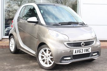 2014 SMART FORTWO 1.0 PASSION MHD 2d AUTO 71 BHP £4989.00