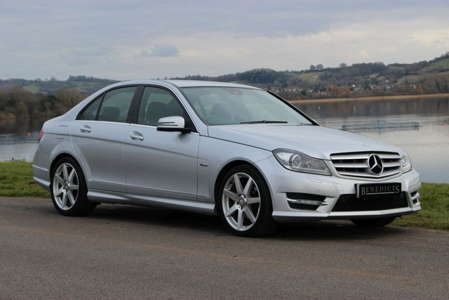 2012 12 MERCEDES-BENZ C CLASS 1.8 C180 BLUEEFFICIENCY SPORT 4d AUTO 155 BHP