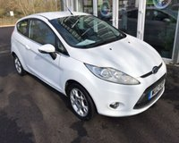USED 2012 12 FORD FIESTA 1.25 ZETEC 3d THIS VEHICLE IS AT SITE 1 - TO VIEW CALL US ON 01903 892224