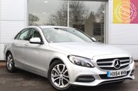 USED 2014 64 MERCEDES-BENZ C CLASS 2.1 C220 BLUETEC SPORT 4d 170 BHP 1 OWNER,BLUETOOTH,HEATED SEATS