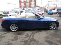 USED 2007 07 BMW 3 SERIES 2.0 320I M SPORT CONVERTIBLE 2d 168 BHP