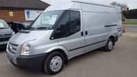 2012 FORD TRANSIT 280 TREND MWB MEDIUM ROOF 125BHP WITH AIR CONDITIONING £7995.00