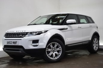 2013 LAND ROVER RANGE ROVER EVOQUE 2.2 SD4 PURE TECH [SAT NAV/LEATHER] 5d AUTO 190 BHP £18990.00