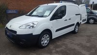 2014 PEUGEOT PARTNER 850 SE E-HDI 92BHP ONLY  9,000 MILES WITH 3 SEAT CAB  £6795.00