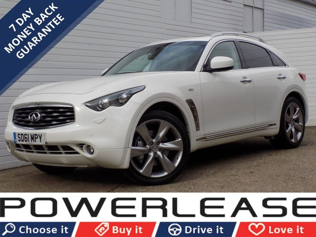 USED 2011 61 INFINITI FX 3.0 FX30S 5d AUTO  360 CAMERAS HEATED AND A/C SEATS