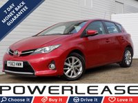 USED 2013 63 TOYOTA AURIS 1.4 ICON D-4D 5d 89 BHP 20 POUND ROAD REVERSE CAMERA