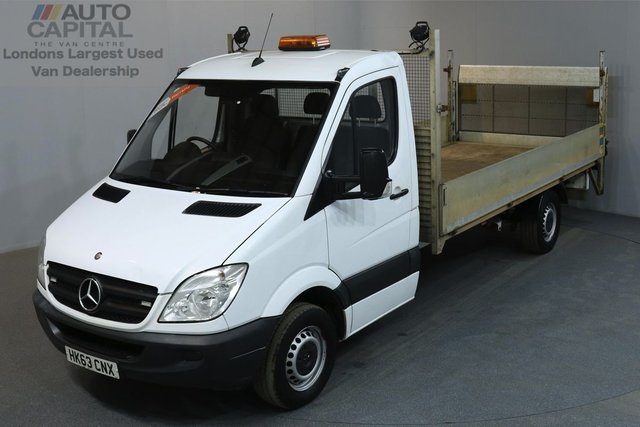 2013 63 MERCEDES-BENZ SPRINTER 2.1 313 CDI 129 BHP EXTRA LWB REAR TAIL LIFT ONE OWNER FROM NEW, SERVICE HISTORY